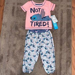 LILO and stitch pajama set